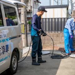 排水管の高圧洗浄